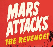 Mars Attacks: The Revenge! sketch cards