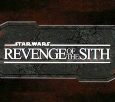 Star Wars Revenge of the Sith sketch cards